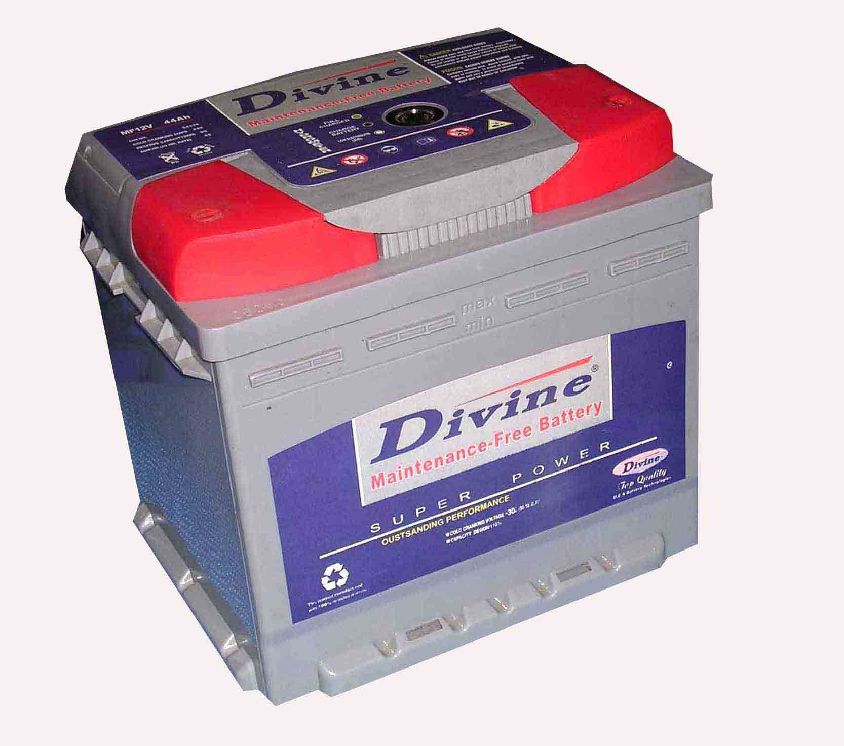 Sealed mf car battery din44 54434