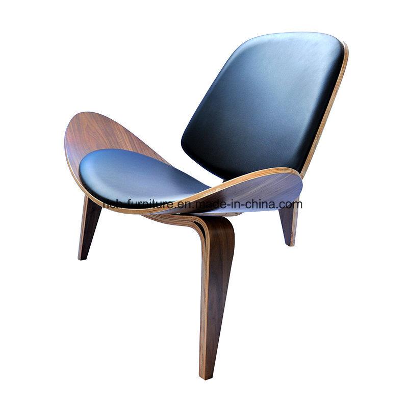 Replica Three- Leg Bent Plywood Hans Wegner Shell Chair