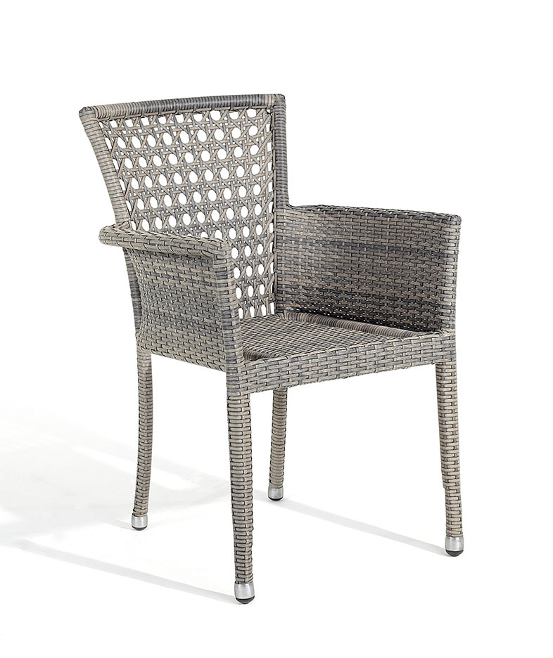 Outdoor Modern Stackable Wicker Coffee Shop Chair BZ CR001 Photos Pic