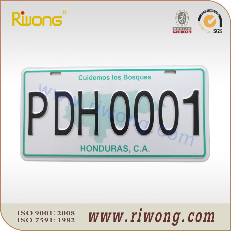 High Security Car Number Plate Blank