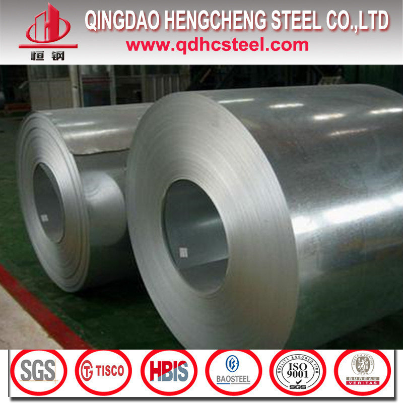 Dx51d Z90 Zinc Coated Gi Steel Coil
