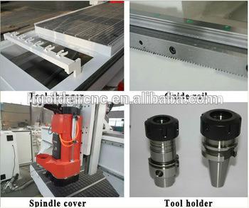 Hot Sale Hsd Spindle Linear 3D Atc Wood CNC Router
