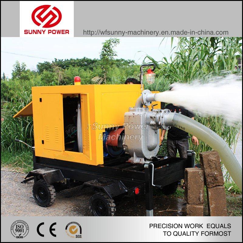 Diesel Water Pump for Sprinkler Irrigation System with High Pressure