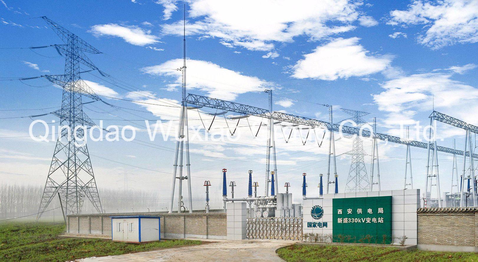 Power Transmission Transformer Distribution Substation Steel Structure