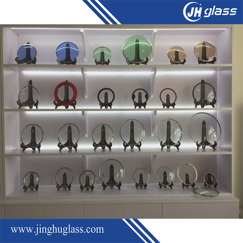 6mm Bent Tempered Glass for Pot Cover
