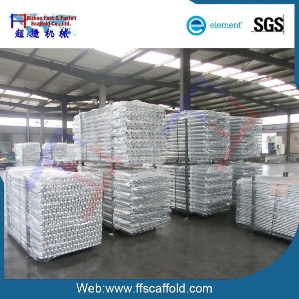 Rizhao Factory HDG Layher Scaffolding Rosette Standard (FF-9103)