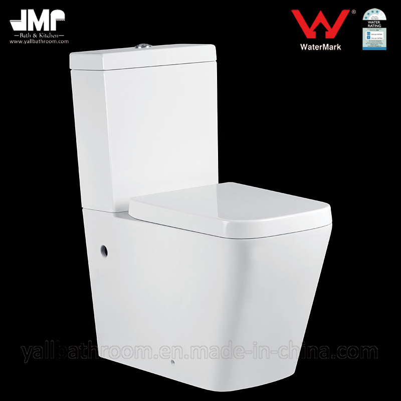 2051A Australian Standard Sanitary Ware 3L/4.5L Watermark Washdown Two Piece Ceramic Toilet
