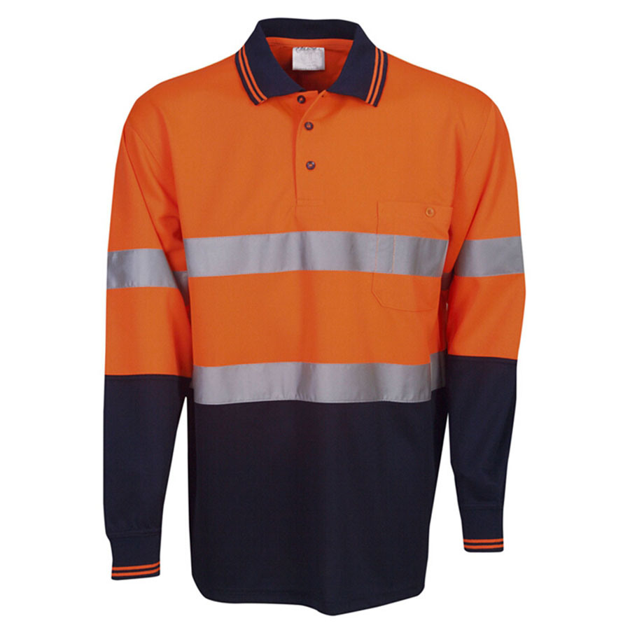 2016 Long Sleeve Reflective Safety T-Shirt