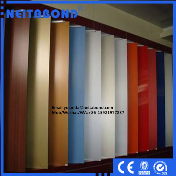 3mm Wood Surface Aluminum Composite Panel for Interior Cabinet Decoration
