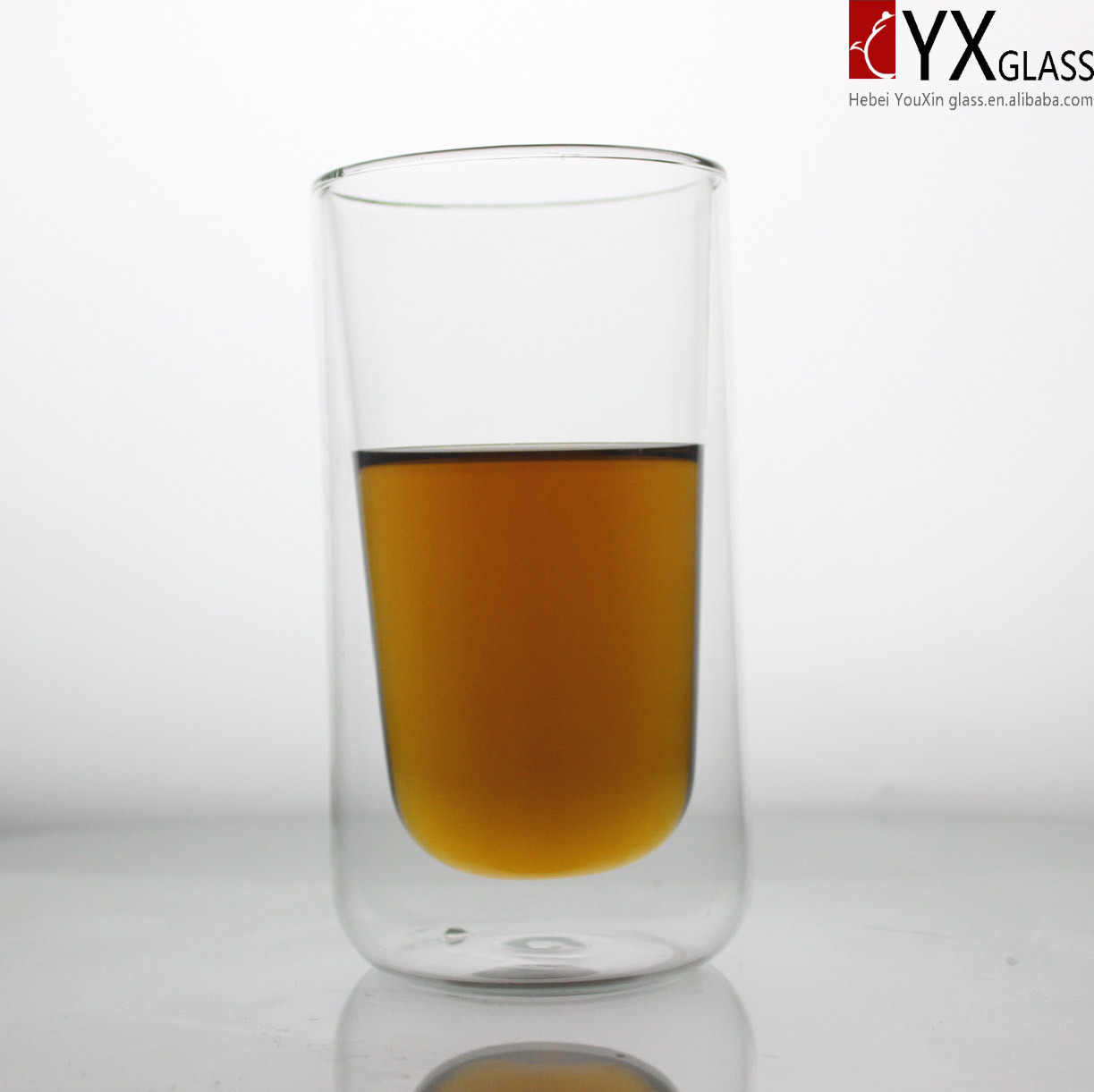 450ml Double Layer Glass Coffee Cup/Double Layer Glass Tea Cup/Double Layer Glass Thermos Cup