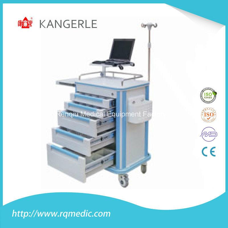 ABS Crash Cart/Emergency Trolley/Hospital Cart