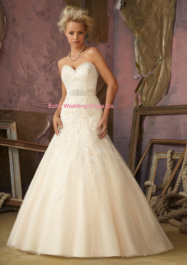 Champagne plus size wedding dresses gown and dress gallery for Plus size champagne wedding dresses