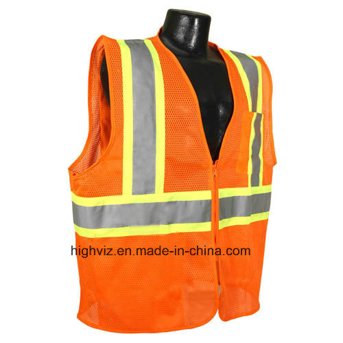 High Visibility Vest with ANSI07 (FR-005)
