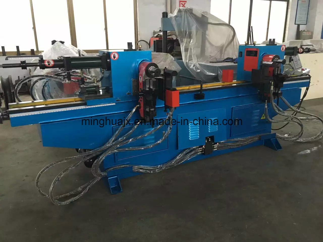 Hydraulic Double Head Pipe Bending Machine (SW50)