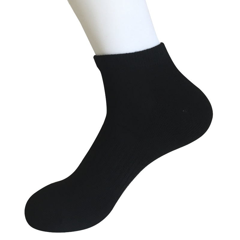 Half Cushion Cotton Fashion Outdoor Sport Ankle Socks (JMCOD08)