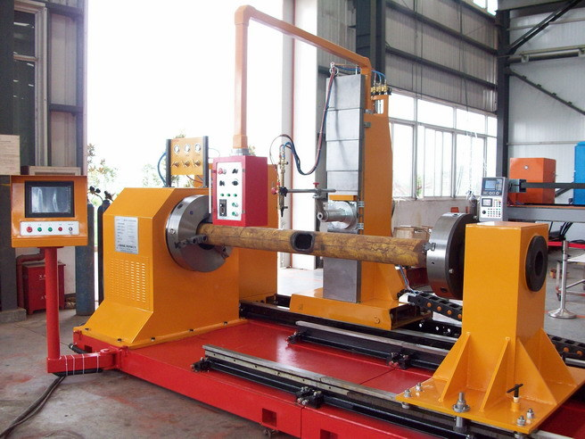 Plasma and Flame 3D CNC Pipe Profile Bevel Cutting Machine
