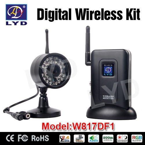 Wireless Home Monitoring System : Wireless home video surveillance system