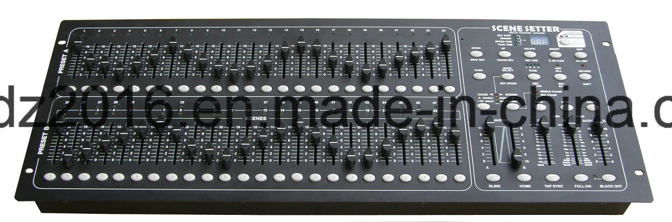 24/48 DMX Light Controller (PROGRAMMABLE BY USER)