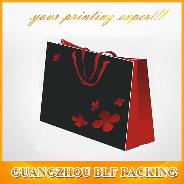 Flower Printing Folding Shopping Bag