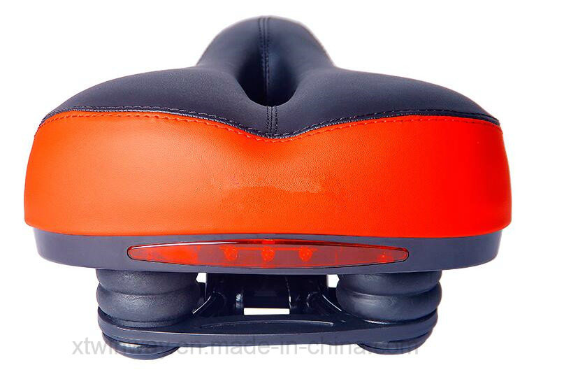 Bicycle Saddle Bicycle Parts Seat with Reflector Light for MTB