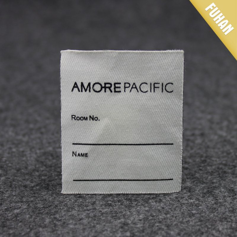 Wholesale Canvas Printed Label