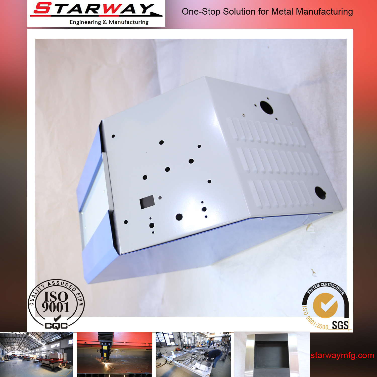 Sheet Metal Fabrication Precision Stainless Steel Custom Box