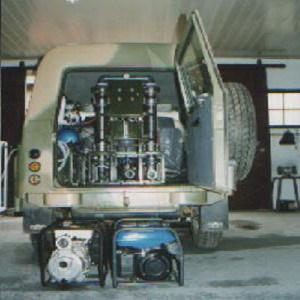 Mobile Water Purification Unit