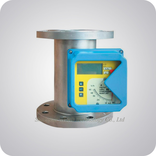 Metal Tube Variable Area Flow Meter Rotameter