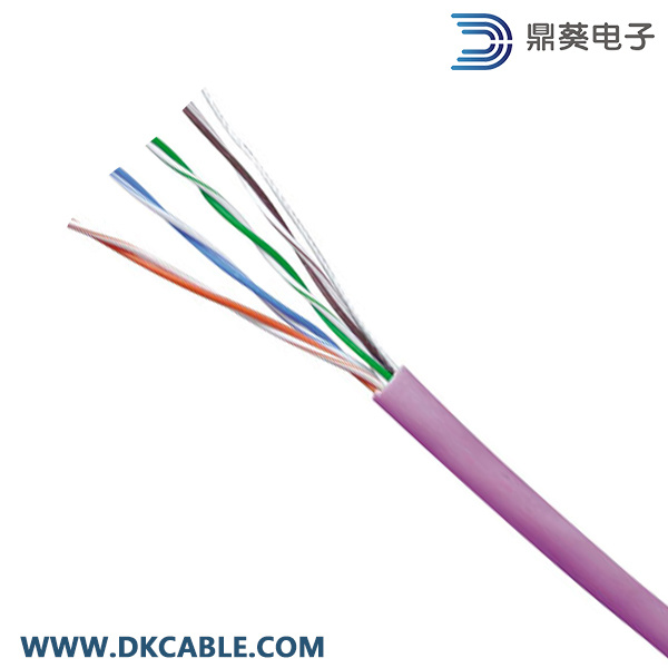 LSZH UTP Cat5e Indoor Cable 24 AWG Bare Copper