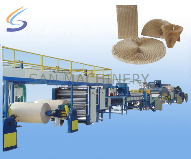 CE Automatic Continuous Honeycomb Paper Core Making Machine