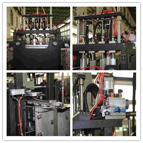 4500bottles/Hr Automatic Pet Bottle Stretch Blow Molding Machine