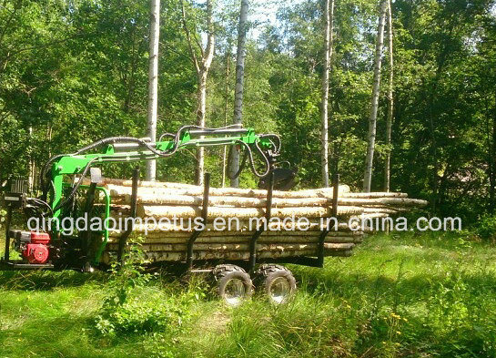Log Loading Trailer LC-300 with CE Certificate Hot Selling in Europe