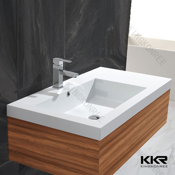 China Solid Surface Custom Made Bathroom Basin Vanity Top Photos Pictures Made In