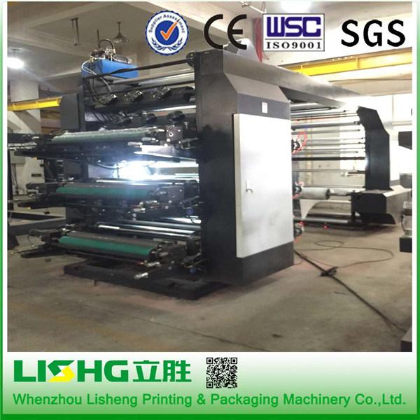 6 Colors High Speed Human Imagine Flexographic Printing Machine