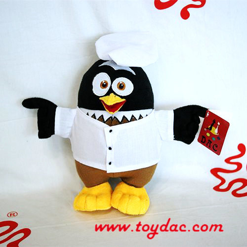 Plush Promotional Penguin Mascot