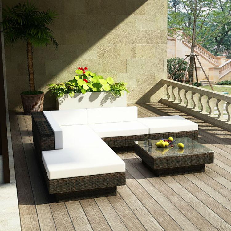 2017 Circular Outdoor Sofa Garden Sofa Wicker Furniture Rattan Sofa Outdoor Furniture S228
