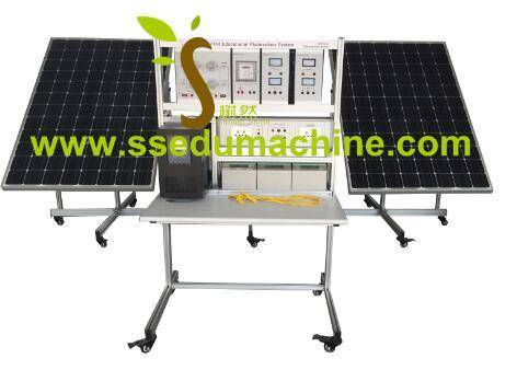 Educational Photovoltaic System off Grid Generationtrainer Solar Teaching Equipment