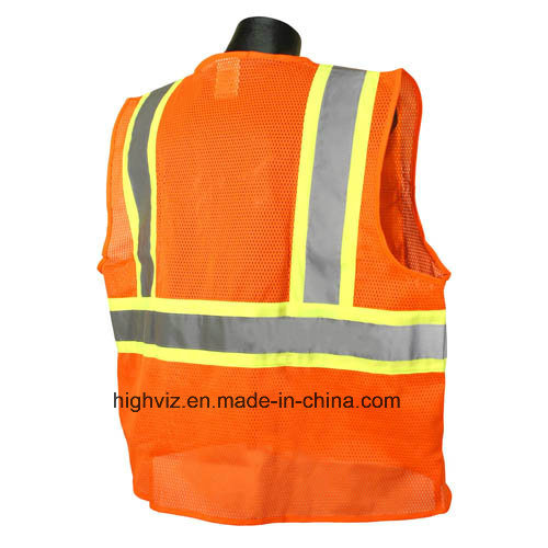 High Visibility Safety Vest with ANSI07 (FR-005)