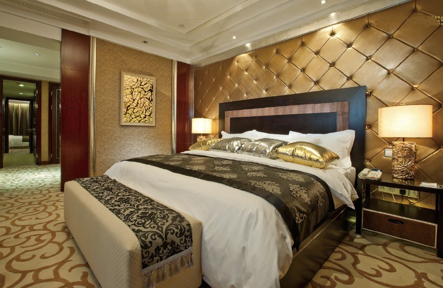 China Hotel Single Bedroom Furniture Hotel King Size Bedroom Sets Luxury Hotel Business Bedroom