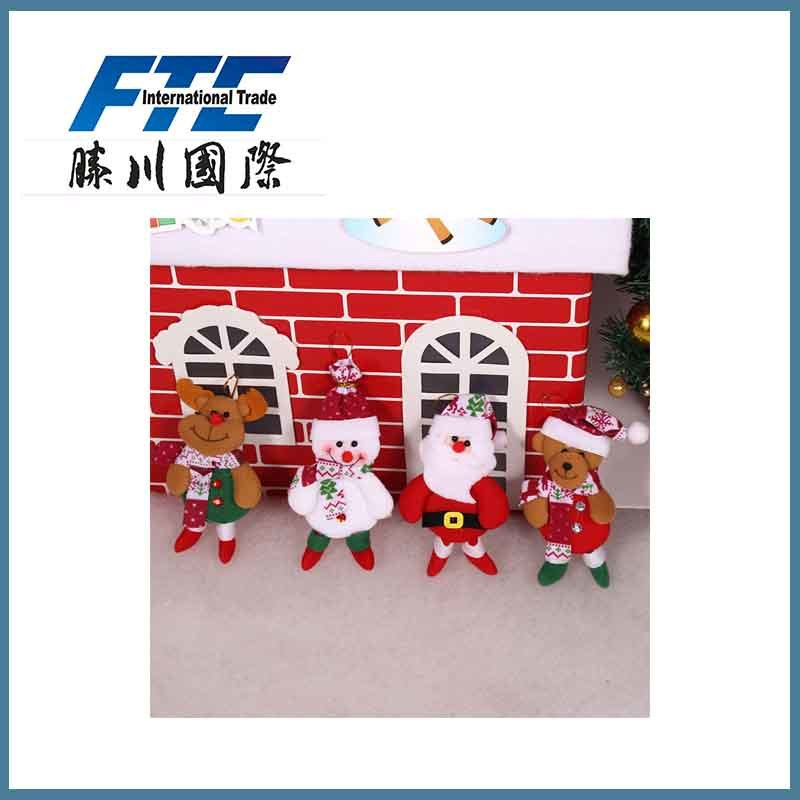 Christmas Gift Decoration Santa Claus Accessories Doll