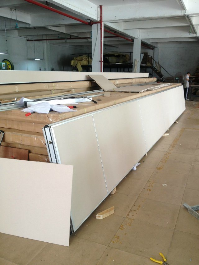 Acoustic Movable Partition Wall Systems for Conference Hall/Multi-Purpose Hall/Hotel