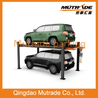 3.6ton Hydraulic Smart Car Parking 4 Post Lift