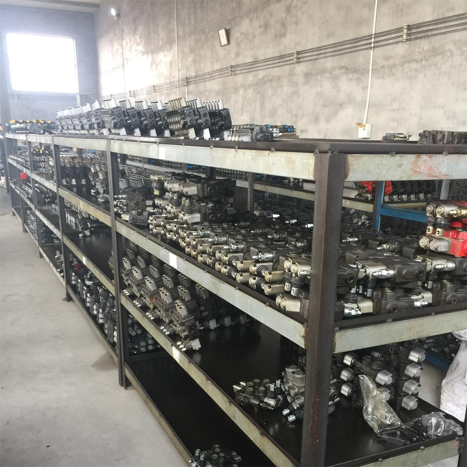 1 Spool Hydraulic Directional Monoblock Control for Cultivating Machine 50LPM