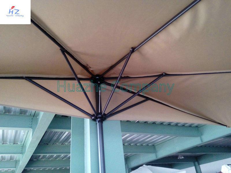 Hot Sale 9ft 5 Ribs Half Umbrella Garden Umbrella Outdoor Umbrella