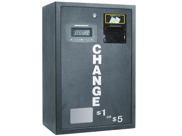Coin and Token Change Machine