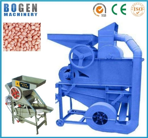 High Capacity Peanut Sheller with Diesel Engine
