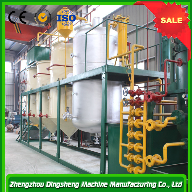 Edible Sunflower Oil Production Line