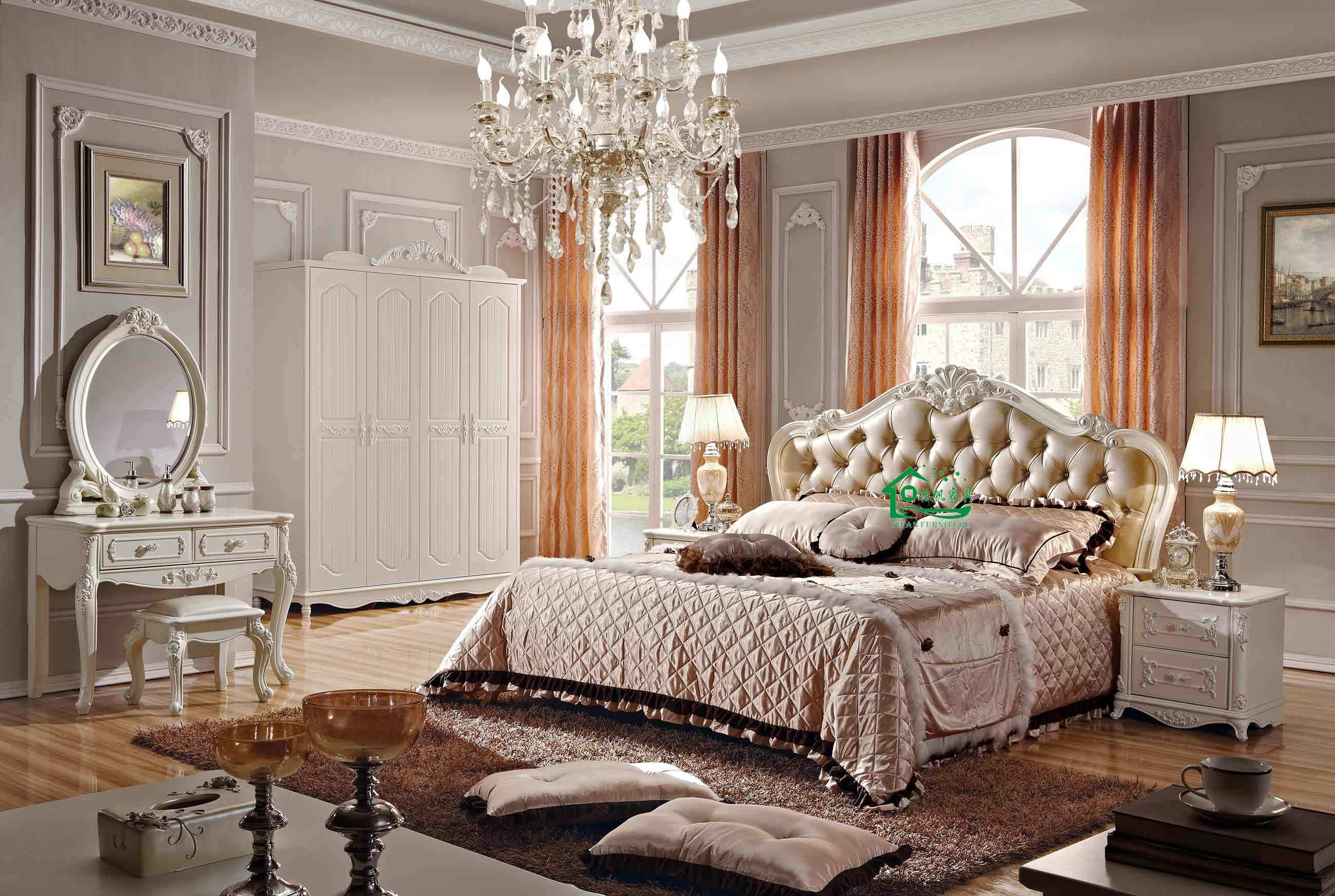 New Classic Bedroom Furniture China New Classic Wooden Bedroom Furniture 808 China Wooden