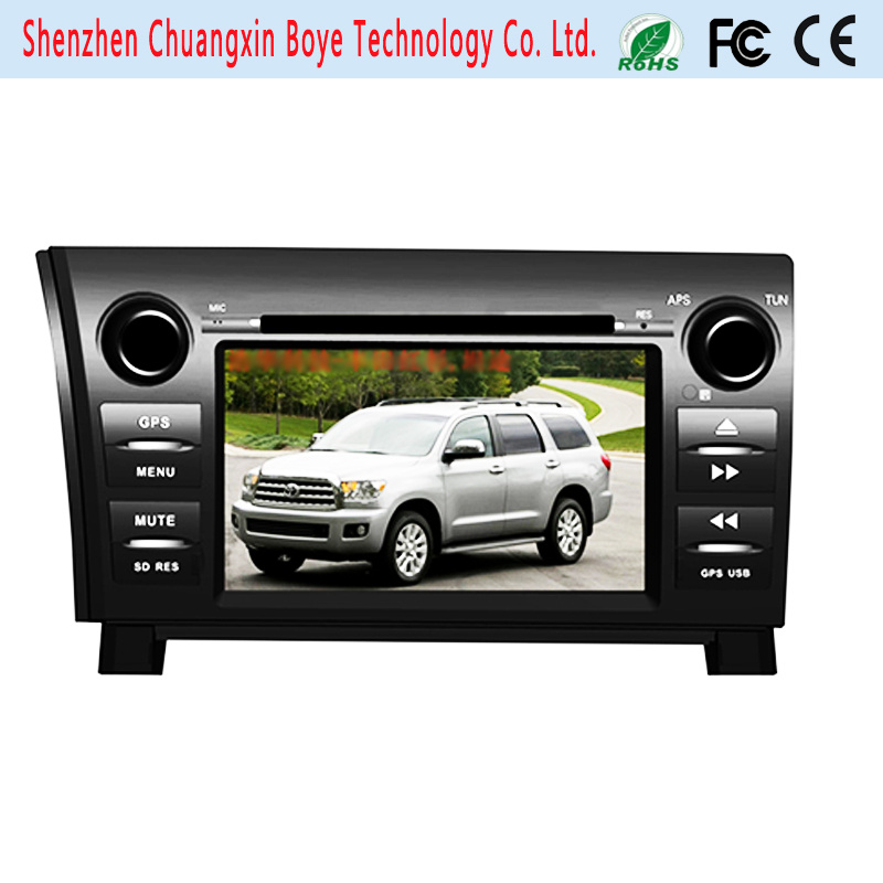 Car CD DVD GPS Navigation System for Toyota Sequoia Tundra