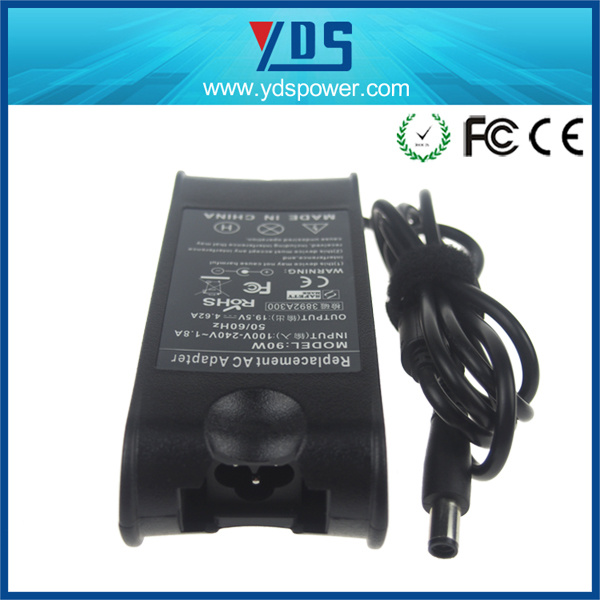 19.5V 4.62A Laptop Adapter with 7.4*5.0 Tips for DELL